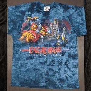 Vintage Excalibur dye dye T-shirt